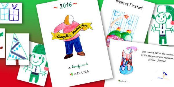 Tarjetas navideñas a beneficio de ADANA