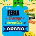 Feria de Garage en beneficio de A.D.A.N.A.